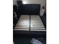 Double bed and mattress for sale £100