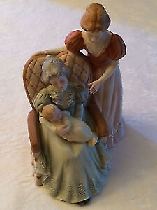 Treasured Memories Three Generations Figurine 1985 - 60860