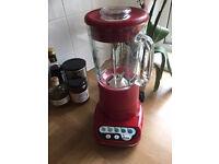 Kitchen Aid Blender RED