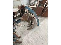 Excavator Grapple 50 mm