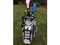 Golf Clubs including PowerKaddy Bag - Great looking set ideal for beginner or occasional player