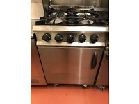 Moorwood Vulcan 4 Burner cooker and oven