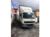2005 DAF 45. 150 aluminium 7500kg box truck