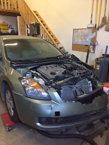 2008 Nissan Altima less than 35,000 km