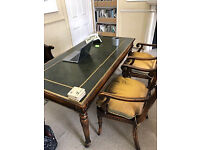 1 Antique table & 1 chair very good condition