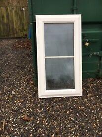 white UPVC window 560/1040 x 2