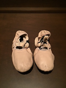 Size 3 1/2 Leather Ballet Slippers - Bloch