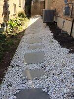 FREE decorative white rocks