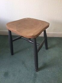 Vintage/shabby chic upcycled stool