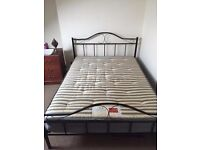 Double Bed - Mattress and Bed Frame