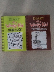 Diary Of A Wimpy Kid Books USED