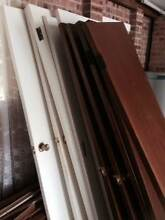 Bargain Doors with handles and hinges with Maple Wamberal Gosford Area Preview