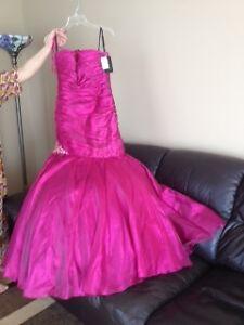 FORMAL FUSIA JOVANI DRESS!!!!!!