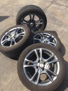 Set of 4 mag wheels and tyres Balaklava Wakefield Area Preview