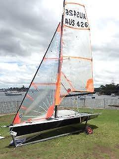 Sail Boat Dinghy: 29er RACING BOAT- for sale/ swap
