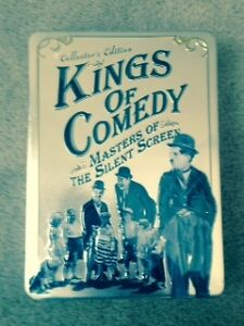 NEW Unopened Collectors Edition Kings of Comedy DVD's - set of 5