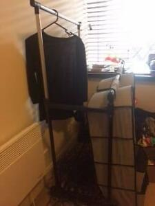 Clothes rack with hanging shelves Melbourne CBD Melbourne City Preview