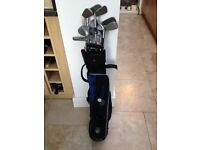 Junior set of clubs and bags