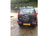 Nissan jeep bit bashed up at the front in good working order