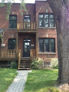 Lower Duplex in NDG - 3+ bedrooms, 2 bathrooms, incl. basement