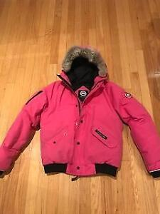 Girl's/Woman Authentic Canada Goose Bomber Youth Size 18