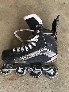 Bauer In-Line skates. Size 6