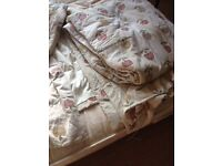 Hand made pair of curtains