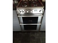 Cannon freestanding gas cooker double oven