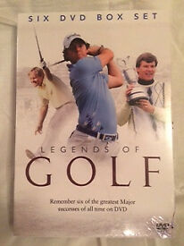 Legends of Golf 6x DVD set - Still in packaging