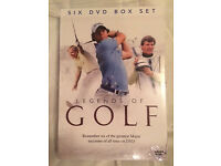 Legends of Golf 6x DVD set - Still in packaging