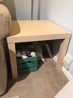 Ikea Lack Side Table Birch Effect