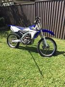 2014 Yamaha YZ250F motorbike Parramatta Parramatta Area Preview