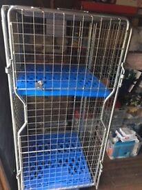 Lockable Storage Cage