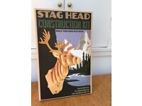 Stag Head Construction Kit- Unused