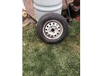 Brand new wheel & tyre both unused not remould
