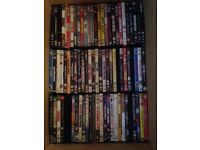 300+ DVD's for sale ideal boot sale or film watcher