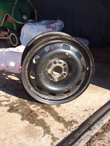 Four Used Rims 5x100mm--Almost New