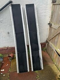 MOBILITY LOADING RAMPS TELESCOPIC TYPE AS NEW SIZE 5ft