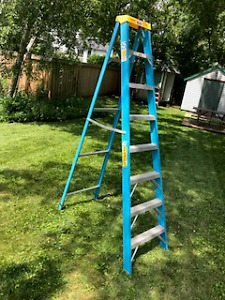 REYNOLDS Fibreglass Ladder
