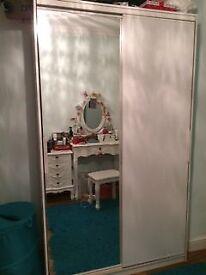 Half-Mirrored IKEA Wardrobes x2