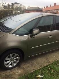 2007 c4 picasso exclusive s/a 1.6 diesel