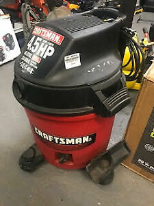 Crafstman 4.5HP Shop Vac