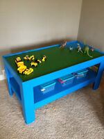 Solid Pine wooden play table