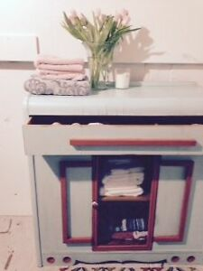 Refinished spa cabinet