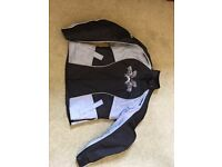 """Hardly worn """"Lady Rider by Frank Thomas"""" size 12-14 bike jacket and trousers."""