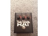 Proco You Dirty Rat Overdrive/Distortion/Fuzz Pedal