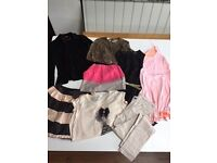 GIRLS 9-10 YEARS BUNDLE OF CLOTHES