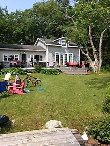 Hubbards South shore lake front cottage