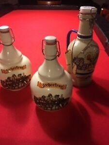 3 jugs and cans with glasses. Never used.