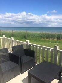 New static cararavan only 18months old ABI Alderly 2 bedroomed all fees paid for 2017- Skipsea sands
